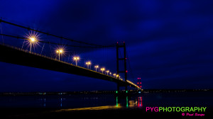 """Picture your greatest"" UK bridge Hull night lights photography"